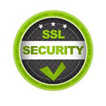 SSL Security certified logo